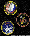 Nasa Crew Patch Decal Stickers