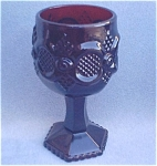 Avon Cape Cod Ruby Red Wine Glass Goblet