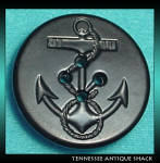 Vintage Bakelite Navy Anchor Button