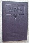 Storage Batteries 1937 International Textbook