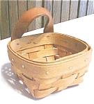 Gerald Henn Basket Miniature Trinket Signed