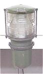 Antique Navigation Lantern Fresnel Type Lens