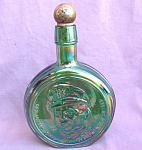 Eisenhower Wheaton Carnival Glass Bottle