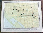 Map Washington Dc & Virginia 1912