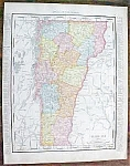 Map Vermont Massachusetts 1912