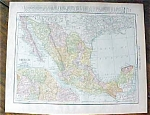 Map Mexico British Columbia 1912