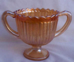 Imperial Rays Sugar Bowl. Carnival Glass
