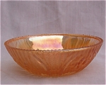 Iris Iridescent Beaded Edge Berry Bowl