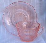 Pink American Sweetheart Cup & Saucer