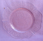 Pink American Sweetheart Bread Plate