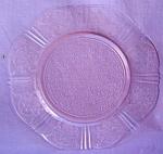 Pink American Sweetheart Salad Plate