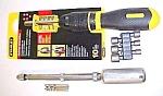 Yankee Push Drill W/drill Adapter & Ratchet Screwdriver