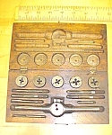 Wiley & Russell Tap & Die Stock Set W/case Small Sizes