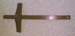 Antique Marking Gauge Large Fruitwood