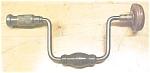 Davis Carpenters Auger Bit Brace 8 Inch