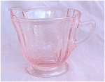 Madrid Recollection Pink Creamer Cream Pitcher