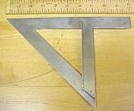 Fox's Steel Mitre Square Miter Patent 1921 Fred Breul