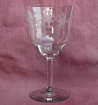 Morgantown Richmond #7589 Crystal Water Goblet