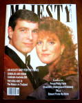 Uk Majesty Magazine Andrew And Sarah Cover Mar 1988
