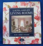 Book Laura Ashley Living Rooms Hardback 1989 Photos