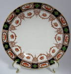 Antique Imari Lunch Plate Colclough England Swags Gold