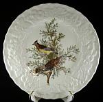 Plate Cedar Bird Audubon Luncheon Meakin England