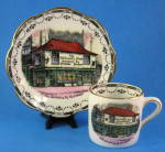 Rosina Dickens Old Curiosity Shop Cup And Saucer Demi