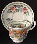 Royal Albert Cup Saucer Warwickshire English Cottages