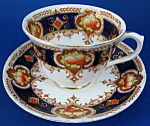Royal Albert Antique Imari Fruit Cup And Saucer Fancy