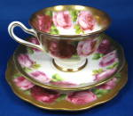 Royal Albert Old English Rose Cup And Saucer With Plate