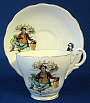 Mr Pickwick Cup And Saucer English Bone China Dickens