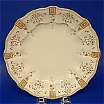 Luncheon Plate Royal Crown Derby England Antique Fancy