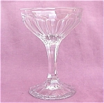 Heisey Narrow Flute Saucer Champagne