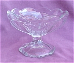 Heisey Glass Scalloped Pedestal Dish