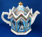 Battle Of Trafalgar Teapot Lord Nelson Octagonal Uk