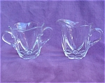 Canterbury Duncan Miller Glass Cream & Sugar