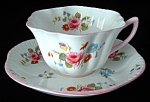Shelley Teacup Rose Spray Stratford England Red Daisy
