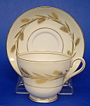 Shelley Golden Harvest Cup And Saucer Windsor Wheat