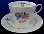 Shelley Cup And Saucer Bell Flower Art Deco Oxford