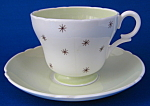 Shelley England Demi Cup And Saucer Pole Star Henley