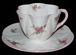 Shelley England Bridal Rose Dainty Cup And Saucer