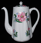 Shelley England Dainty Coffee Pot Large Rose Design