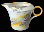 Shelley Art Deco Creamer Lakeland Regent Yellow Bird