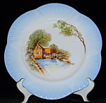 Shelley England Dainty Cabinet Plate Old Mill Charger