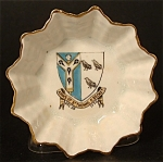 Dish Shelley Crested China Thomas Becket Cantebury
