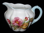 Shelley England Begonia Cream Dainty Shape Creamer Milk