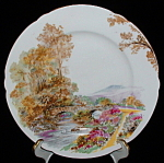 Shelley Heather Plate Dessert Pie Gainsborough England