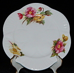 Shelley China Plate Dainty Begonia Bread And Butter