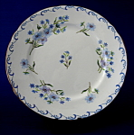 Shelley Blue Rock Bread Plate Gainsborough Cake