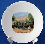 Victorian Souvenir Plate Mormon Tabernacle Salt Lake